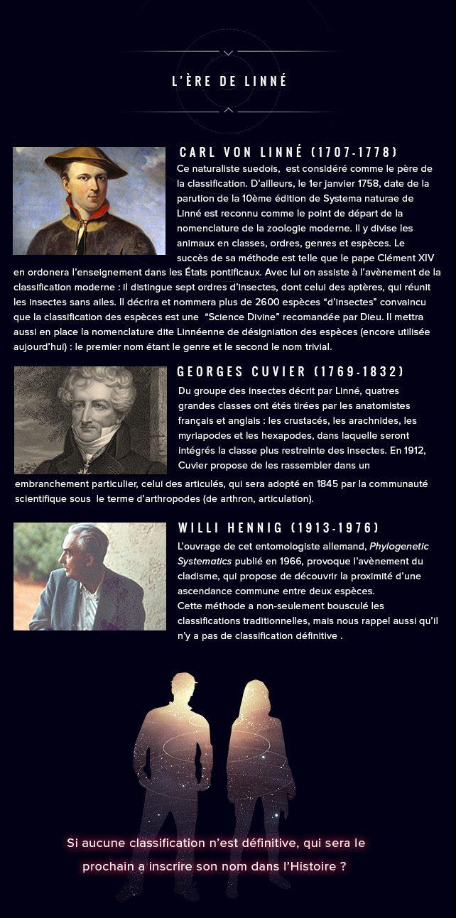 Histoire des sciences Linée